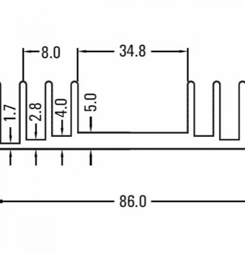Dissipador BR-1400