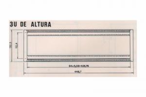 Caixa C-700 - 3U de Altura