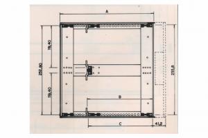 Caixa C-700 - 6U de Altura