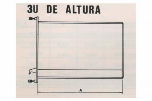 Módula M-700 - 3U de Altura